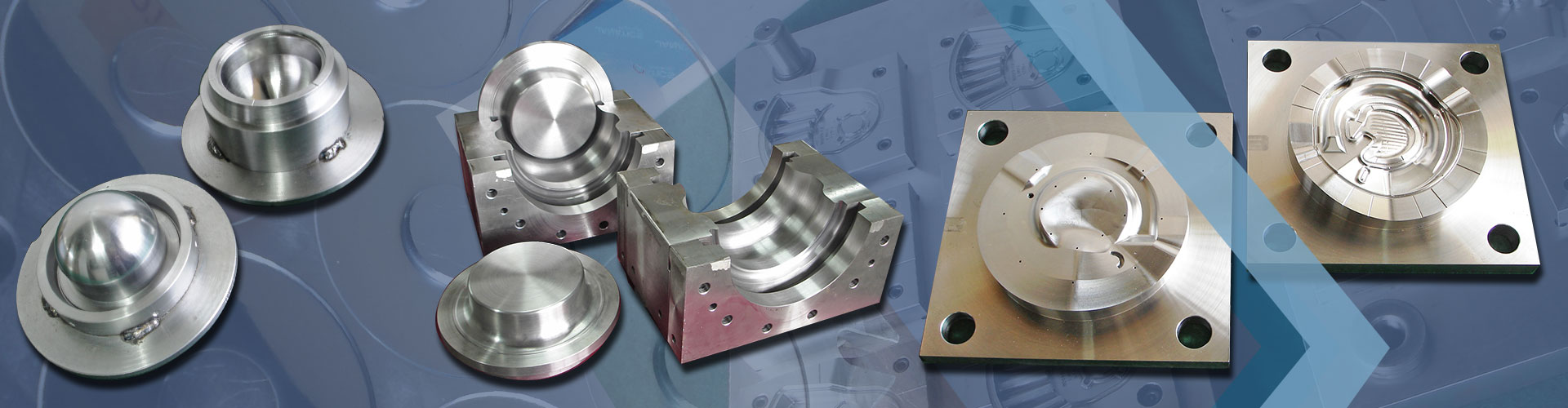 RUBBER INJECTION, TRANSFER AND COMPRESSION MOLDS